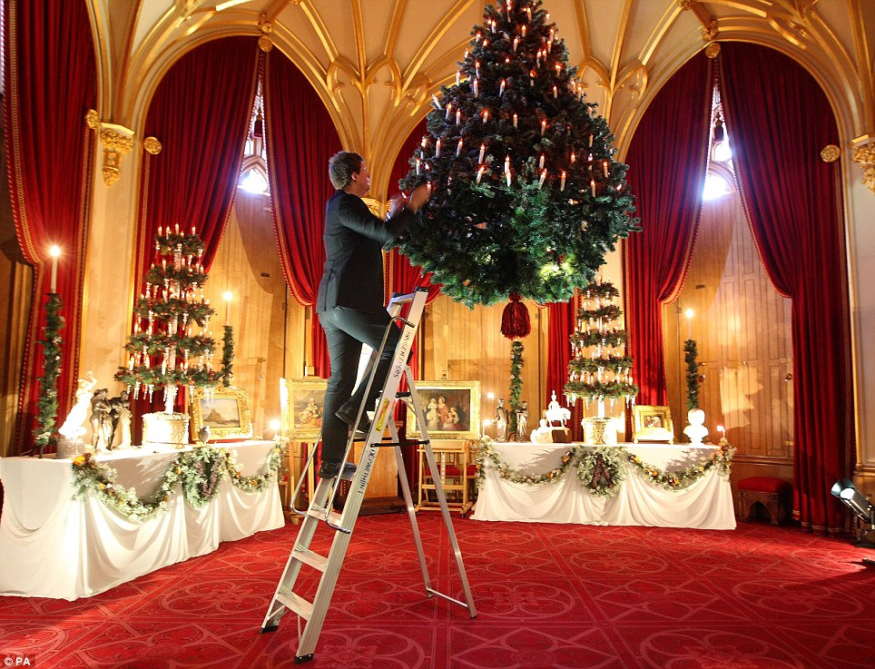 Victorian Christmas at Windsor castle